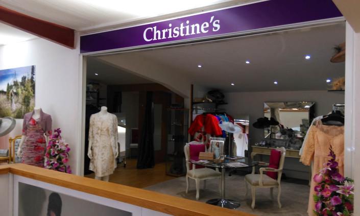 Christine's-mother-of-bride-shop-front